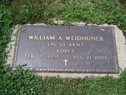 William A. Weidhuner