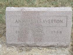 Anna C Leaverton