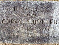 Chona <I>Lucky</I> Shepherd