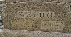 Sally Elizabeth <I>Green</I> Waldo