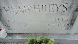 Lula G. Humphreys
