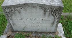 Susie <I>Adams</I> Wells