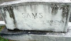 Ruby Lee Sams