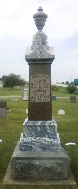 Anna Mary <I>Milliken</I> Lower