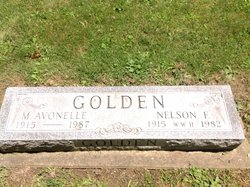 Mary Avonelle <I>McAuliffe</I> Golden