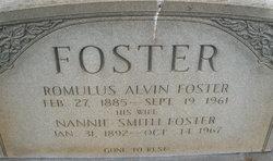 Nannie <I>Smith</I> Foster