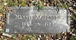 Nannie A. Munsey