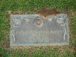 Mary Frances <I>Fuller</I> Barnett