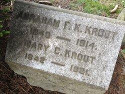 Abraham F K Krout
