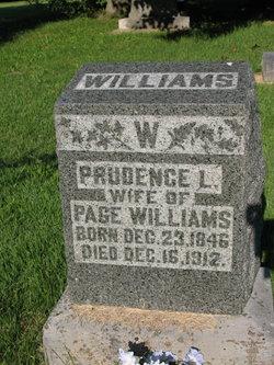 """Prudence Louisa """"Lou"""" <I>Martin</I> Williams"""