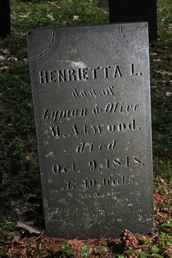 Henrietta L Atwood