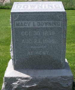 Macy Irene <I>Brooks</I> Downing