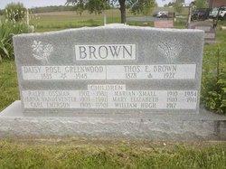 Carl Emerson Brown