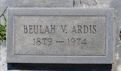 Beulah Victoria <I>Snyder</I> Ardis