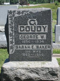 Sarah E. <I>Baker</I> Goudy