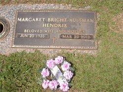 Margaret Louise <I>Bright</I> Hendrix