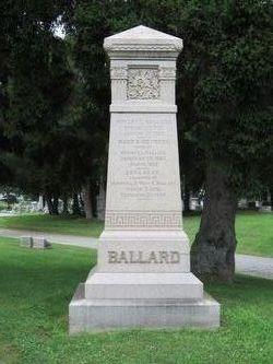 Mary Eliza <I>Heywood</I> Ballard