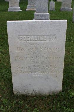 Mrs Rosaline <I>Hillery</I> Steele