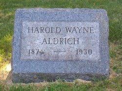 Harold Wayne Aldrich