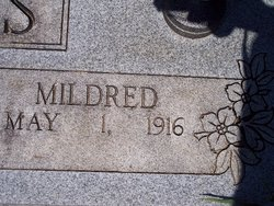 """Mamie Mildred """"Mildred"""" <I>Varnell</I> Butts"""