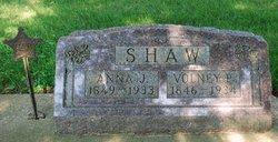 Anna J <I>McRoberts</I> Shaw