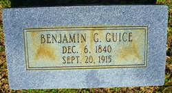 Benjamin G Guice