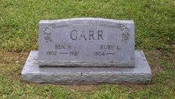Ruby L. Carr