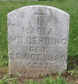 Maria Wilberding