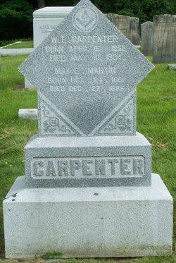 May Estelle <I>Martin</I> Carpenter
