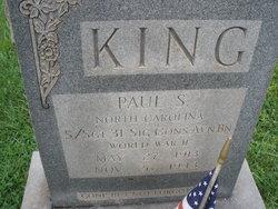 SSGT Paul S. King