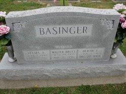 Bertie L Basinger