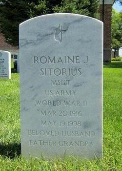 Romaine J Sitorius
