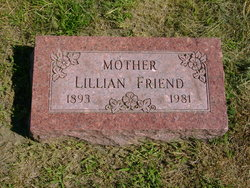 "Lillian Angela ""Lilly"" <I>Adamski</I> Friend"