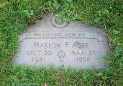 Marion Frances <I>Woodburn</I> Abbe