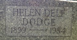 Helen Marr <I>Delf</I> Dodge