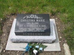 Christina Marie <I>Blum</I> Albrecht