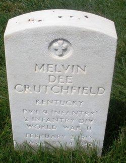 Melvin D Crutchfield