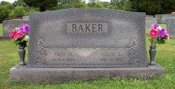 Louise L. <I>Martin</I> Baker