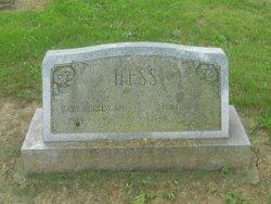 Mary Elizabeth <I>Burlingame</I> Hess