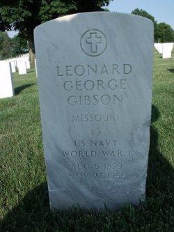 Leonard George Gibson