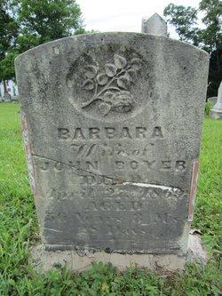 Barbara <I>Mauk</I> Boyer