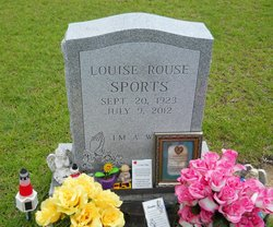 Annie Louise <I>Rouse</I> Sports
