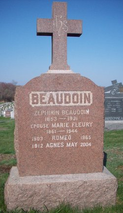 Marie <I>Fleury</I> Beaudoin