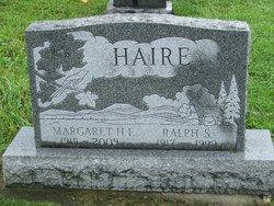 Margaret E <I>Hassinger</I> Haire