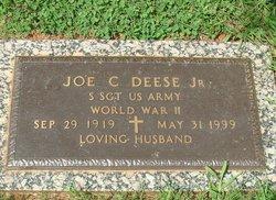 """Joseph Cephus """"Joe"""" Deese, Jr"""