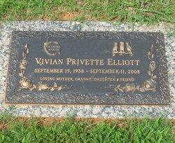 Vivian <I>Privette</I> Elliott