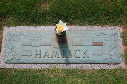 Otis T Hamrick