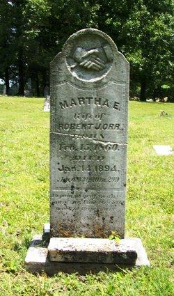Martha E <I>Wood</I> Orr