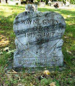 Wayne Green Orr