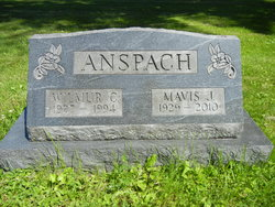 Mavis Jeannine <I>Ericksrud</I> Anspach